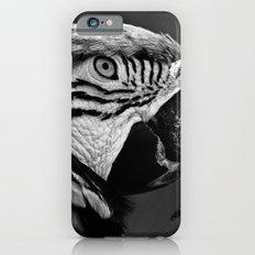 Black & White Parrot  iPhone 6s Slim Case
