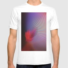 Floating By SMALL White Mens Fitted Tee