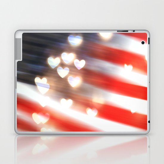 A Love as Big as America Laptop & iPad Skin