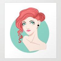 Ms. Believer Art Print