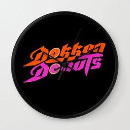 Dokken Donuts Wall Clock