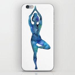 Tree Pose iPhone Skin