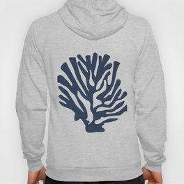 Blue coral Hoody