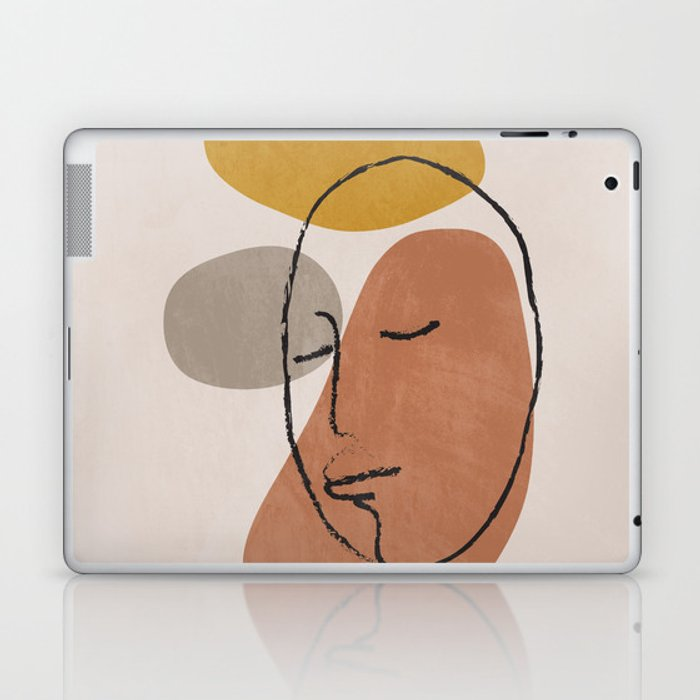 Portrait 1 Laptop & iPad Skin
