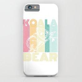 Koala Bear Australia iPhone Case