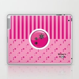 Pink Writer's Mood Laptop & iPad Skin