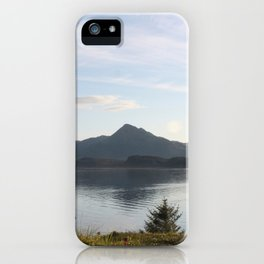Kashevaroff Mountain Photography Print iPhone Case