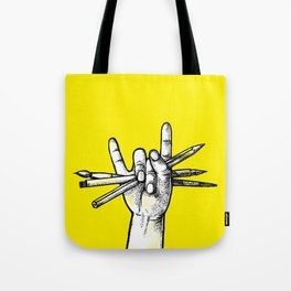 Don't stop drawing! Tote Bag