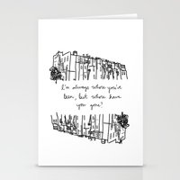 baltimore Stationery Cards featuring Baltimore by Lasafro