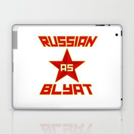 Russian as Blyat Laptop & iPad Skin