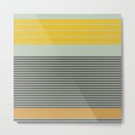 Stripe Pattern III Metal Print