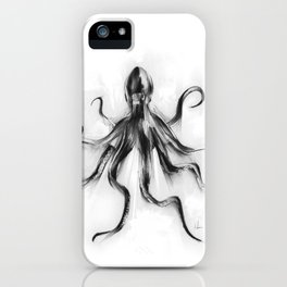 King Octopus iPhone Case