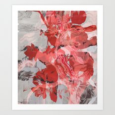 Untitled 20160113z (Arrangement) Art Print