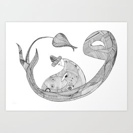 Humble Dervish Art Print