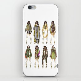 Desert Army  iPhone Skin