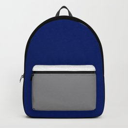 Team Colors 2...Blue,gray Backpack