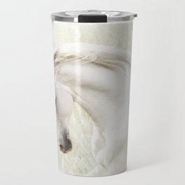 White Stallion Travel Mug