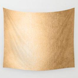 Simply Orange Sherbet Shimmer Wall Tapestry