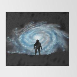 Alien Shores Throw Blanket