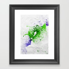 Little Demon Framed Art Print