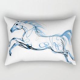 Running horse Rectangular Pillow