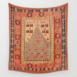 Antique Erzurum Turkish Kilim Rug Print Wall Tapestry