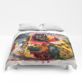 Stone dance Comforters