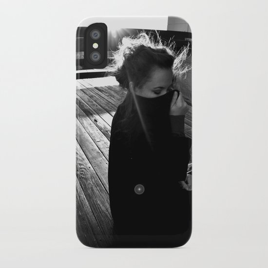 Free As A Caged Bird iPhone Case