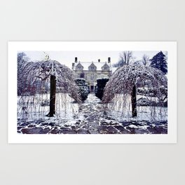 The Cotswolds In Winter Art Print