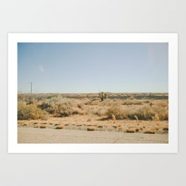 Out In West Texas Art Print