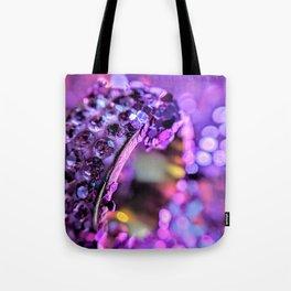Purple Bling Tote Bag