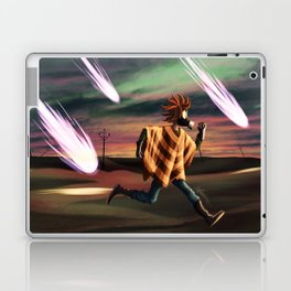 Air Raid in the Battlefield Laptop & iPad Skin