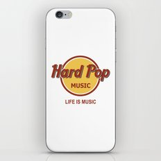 Hard Pop Music iPhone & iPod Skin