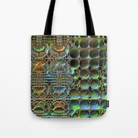 honeycomb Tote Bags featuring Honeycomb by Lyle Hatch