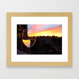 NYC Perspective Framed Art Print