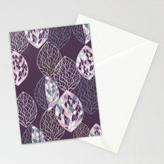 Leaf Print2 Stationery Cards