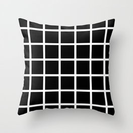 Grids Throw Pillow
