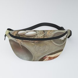 Vintage muffin tin with tiny collection Fanny Pack
