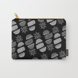Pineapples (Dark/Sliced) Carry-All Pouch
