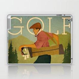 Vintage Golf Laptop & iPad Skin