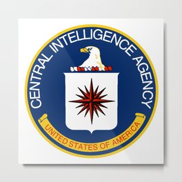 CIA Logo Metal Print
