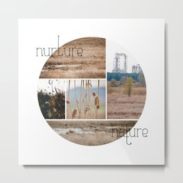 nurture|nature Metal Print