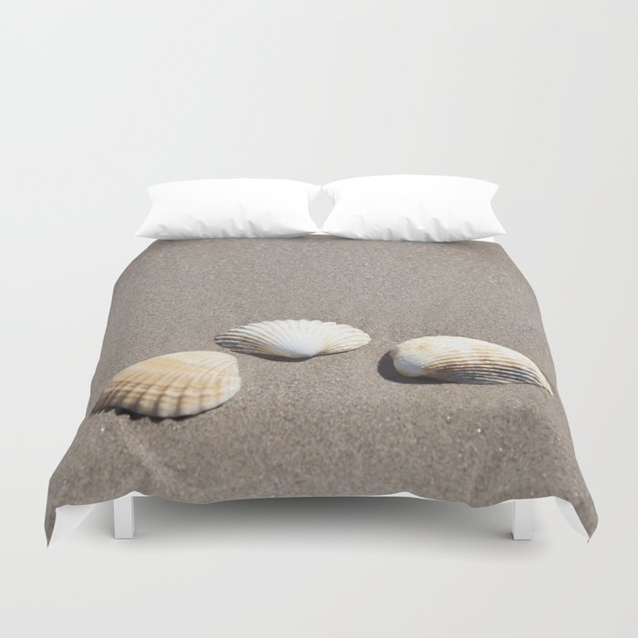 Three Seashells Duvet Cover