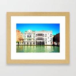 Ca' D'Oro Palace - Venice, Italy Framed Art Print