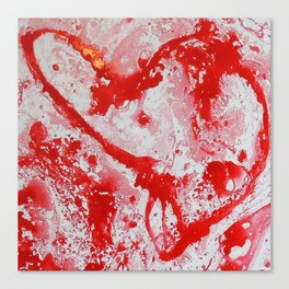 Love | Amour Canvas Print