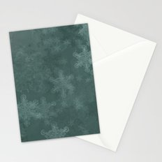 Snowflake Chrismas design Stationery Cards