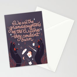 Granddaughters of the Witches Stationery Cards
