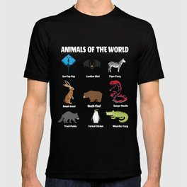 Animals of the world! T-shirt