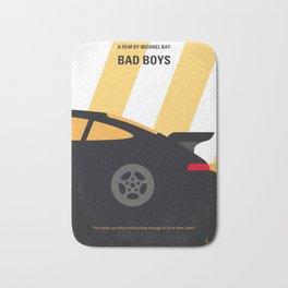 No627 My Bad Boys minimal movie poster Bath Mat