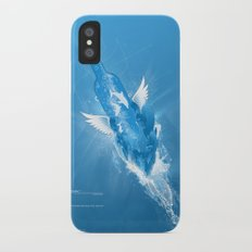 Flowing Paradise iPhone X Slim Case